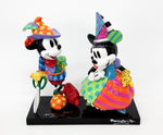 Renaissance Mickey & Minnie - Disney by Britto Figurine -  HAND SIGNED