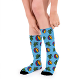 SOCKS - UNISEX - MIAMI (BLUE)