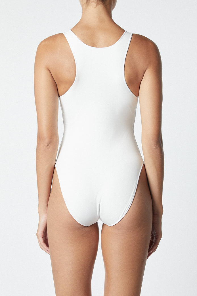 THE CONTOUR BODYSUIT - WHITE