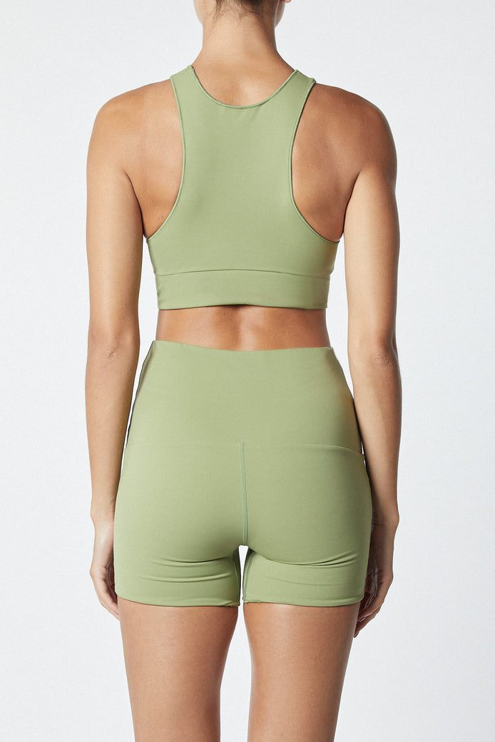 THE BOY SHORT - OLIVE