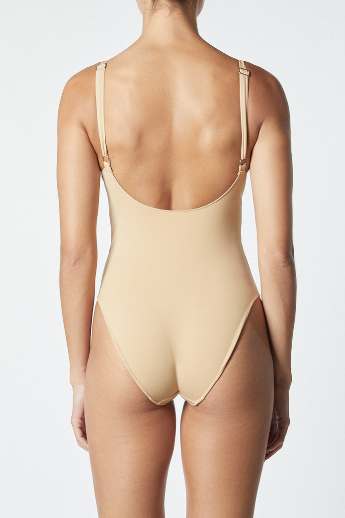 THE CONTOUR ONE PIECE - MOCHA