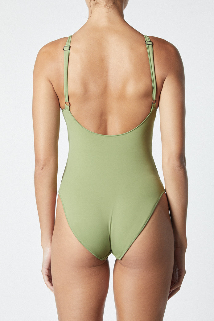 THE CONTOUR ONE PIECE - OLIVE