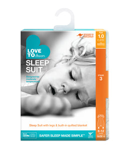 LOVE TO DREAM SLEEP SUIT™ 1.0 TOG White