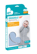 Load image into Gallery viewer, SWADDLE UP™ ORIGINAL 1.0 TOG Blue