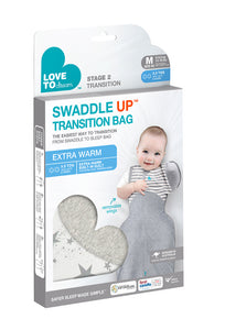 SWADDLE UP™ Transition 3.5 Tog White