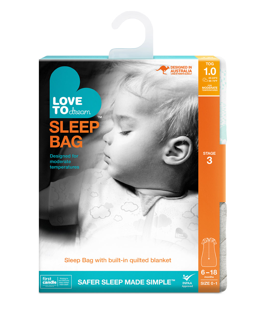 SLEEP BAG™ 1.0 TOG White