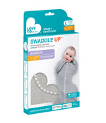 Load image into Gallery viewer, SWADDLE UP™ BAMBOO 1.0 TOG Marl Grey