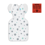 Load image into Gallery viewer, SWADDLE UP™ TRANSITION Lite 0.2 TOG White