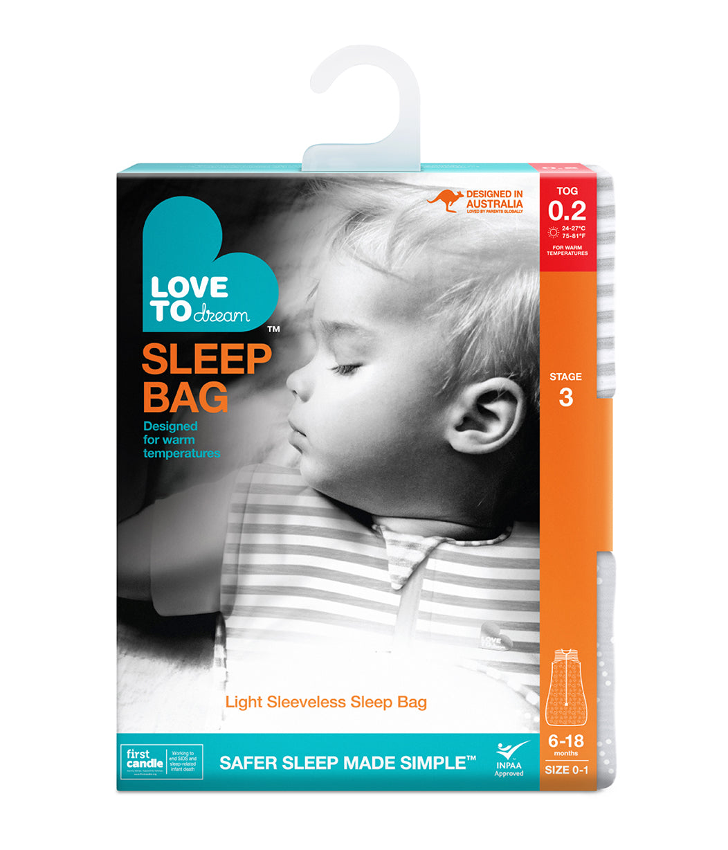 SLEEP BAG™ 0.2 TOG Pink