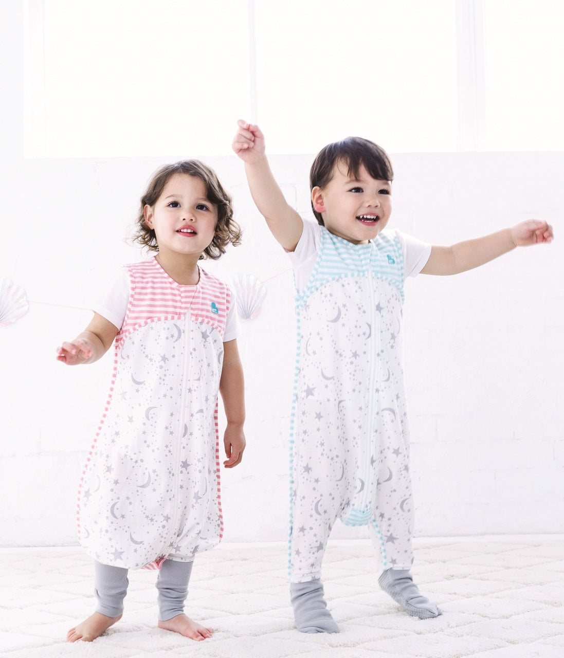 LOVE TO DREAM SLEEP SUIT™ 0.2 TOG Pink