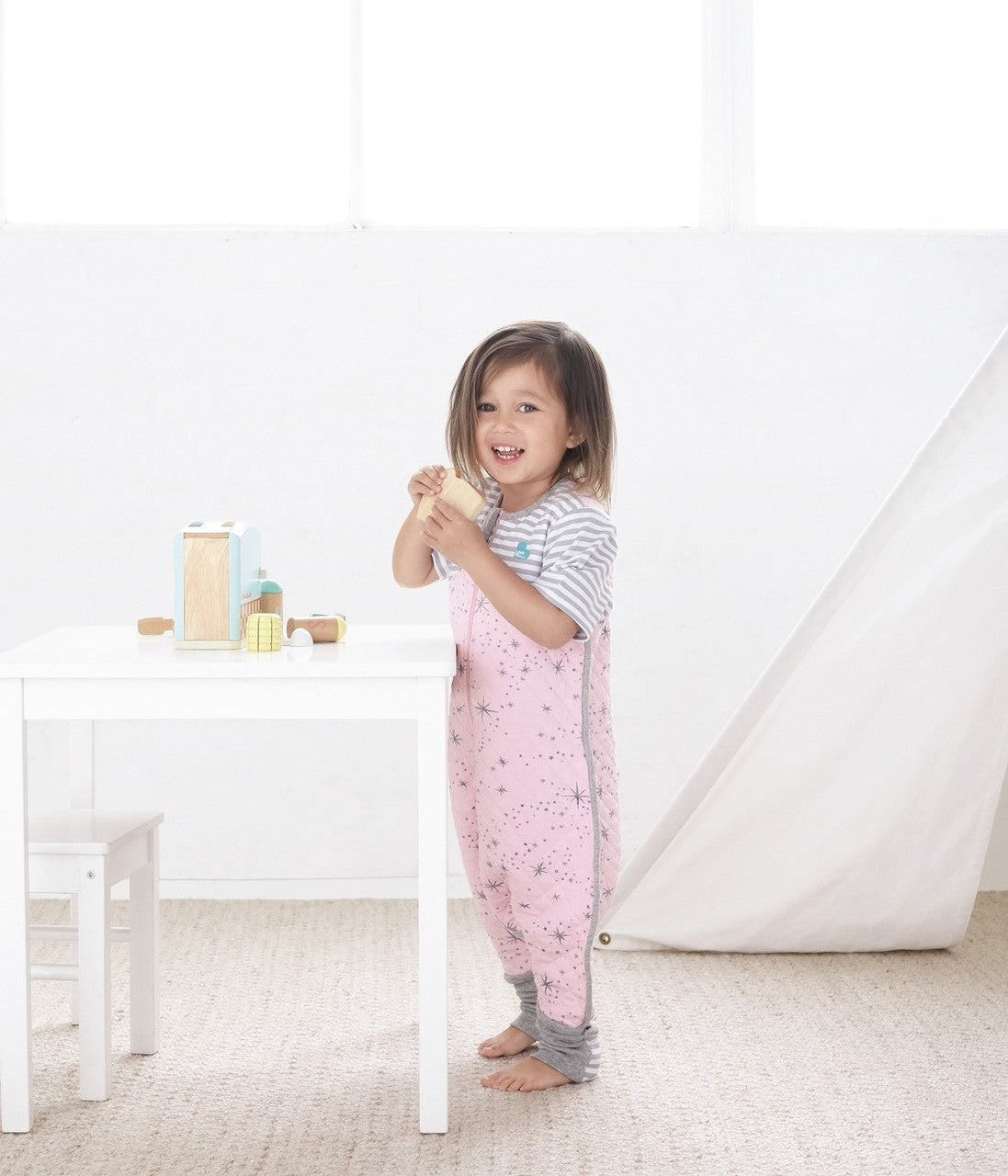 LOVE TO DREAM SLEEP SUIT™ 1.0 TOG Pink