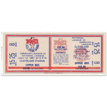 "48"" Repositional All Star Game Ticket - Cleveland 1981"
