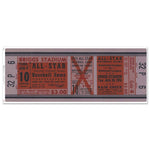 "48"" Repositional All Star Game Ticket - Detroit 1951"