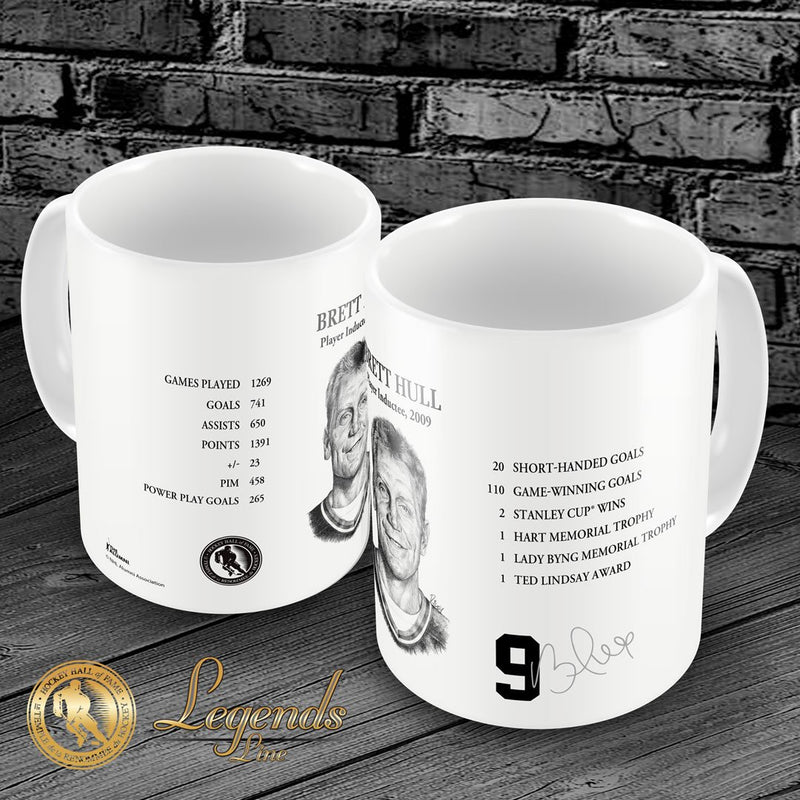 2009 Brett Hull - Legends 15oz Ceramic Mug