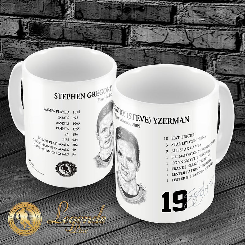2009 Steve Yzerman - Legends 15oz Ceramic Mug