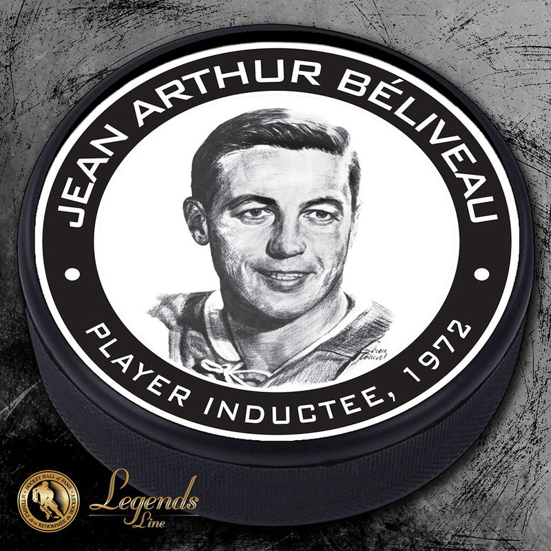 1972 John Beliveau - Legends Textured Puck