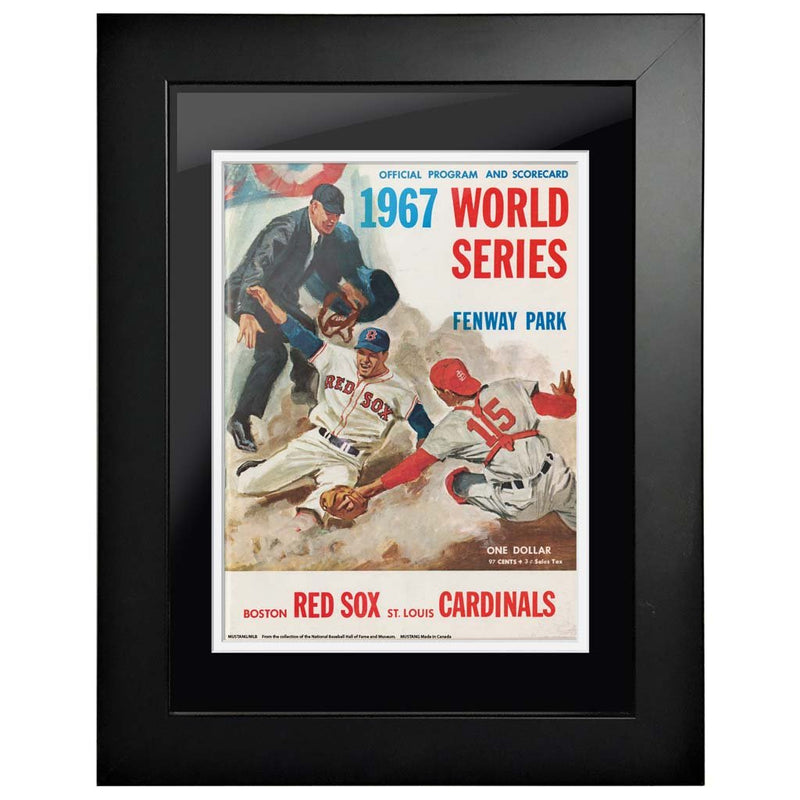 "12""x16""  Boston Red Sox, St Louis Cardinals World Series Program Cover 1967"