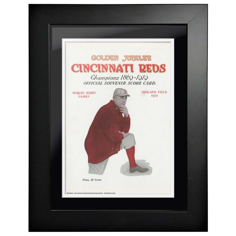 "12""x16""  Chicago White Sox, Cincinnati Reds World Series Program Cover 1919"