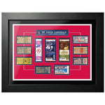 "18""x24"" Framed St Louis Cardinals World Series Ticket To History"