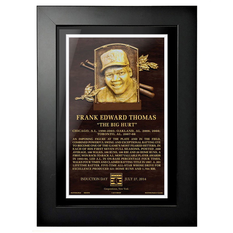 "Frank Thomas Legend 8""x10"" Framed Art Chicago White Sox"