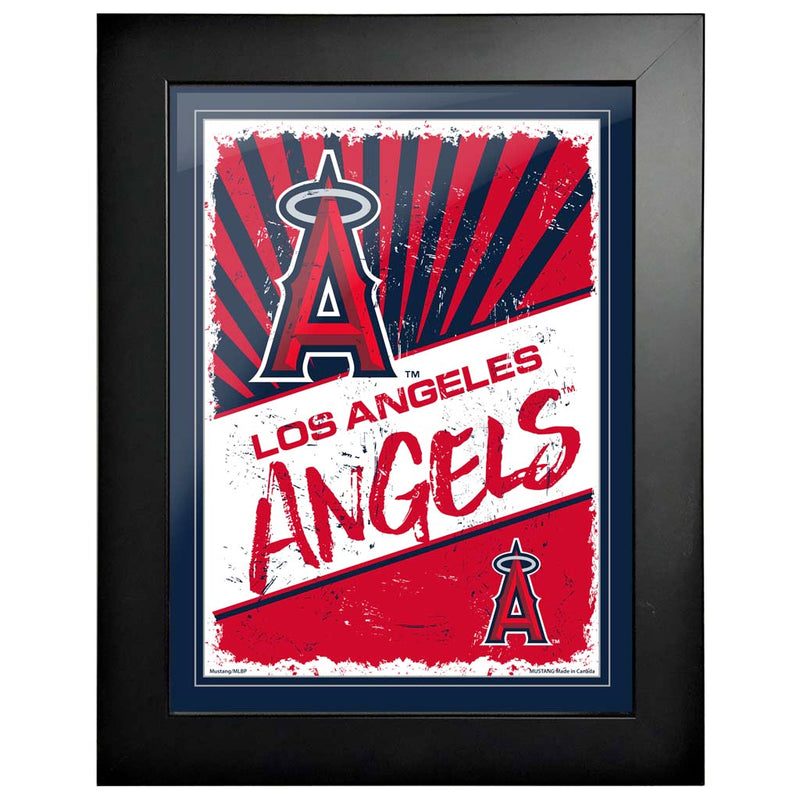Los Angeles Angels 12x16 Classic Framed Artwork