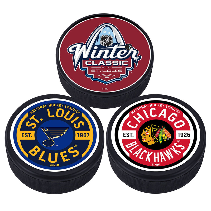 Winter Classic Three Puck Pack - 2017