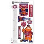 Montreal Canadiens Mascot Repositional Set