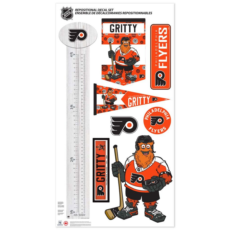 Philadelphia Flyers Mascot Repositional Set