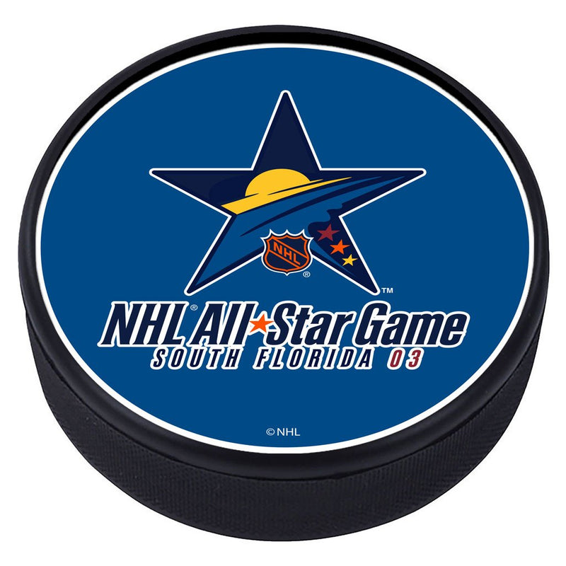 NHL All Star Game Textured Puck - 2003