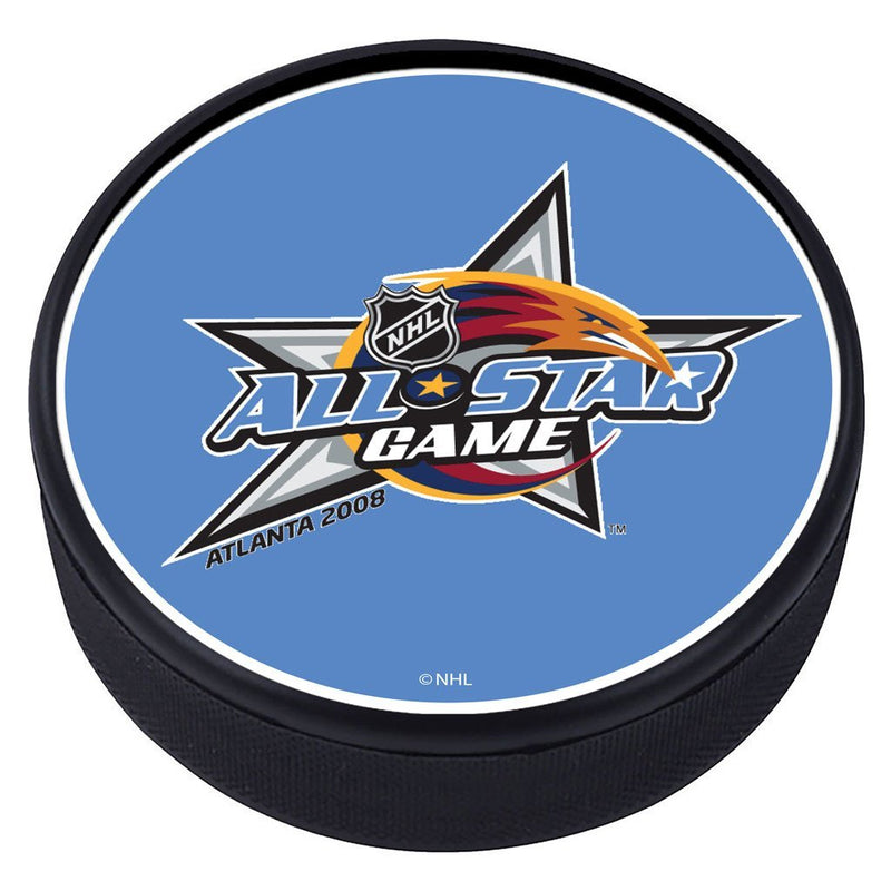 NHL All Star Game Textured Puck - 2008