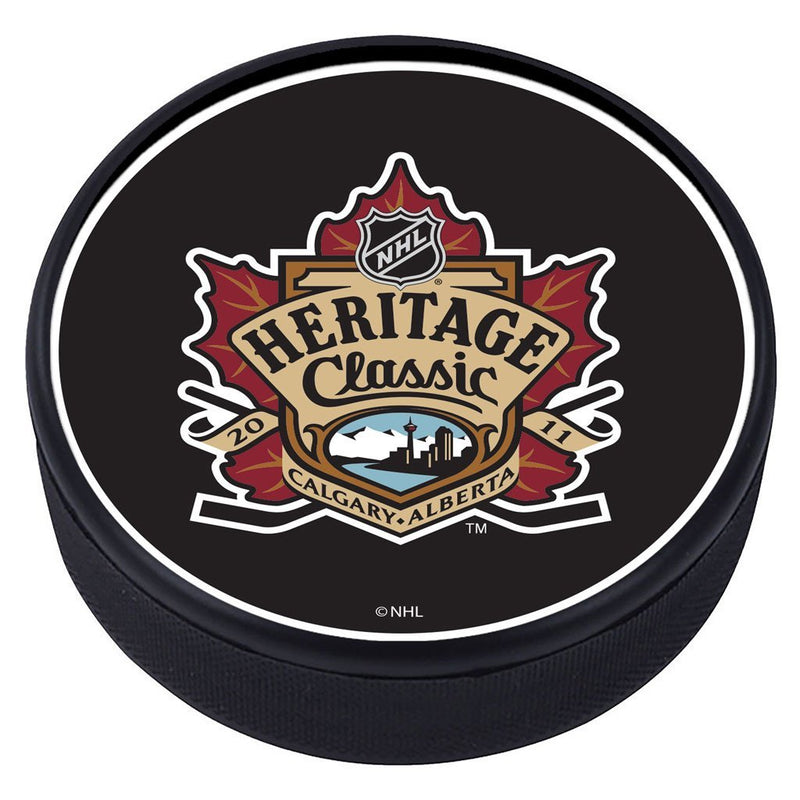 NHL Heritage Classic Textured Puck - 2011