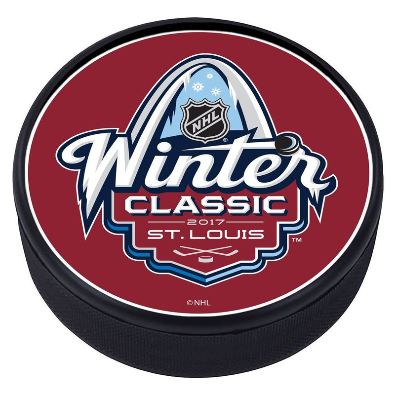 NHL Winter Classic Textured Puck - 2017