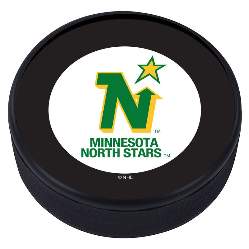 Minnesota North Stars Vintage Classic Textured Puck - Primary