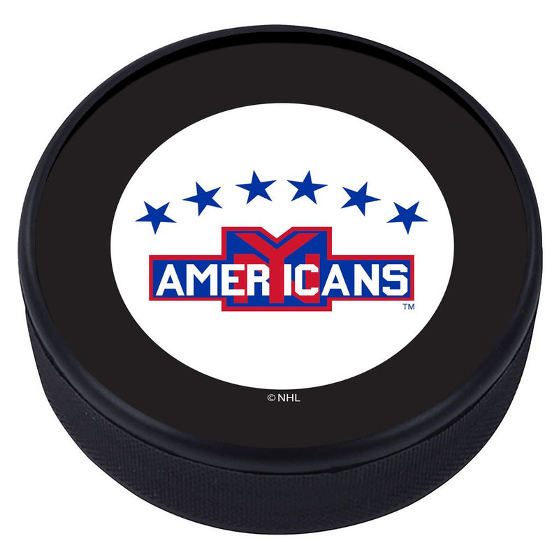 New York Americans Vintage Classic Textured Puck