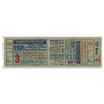 "New York Yankees 1938 Game 3 World Series Ticket Ticket 48"" Repositional Vinyl"