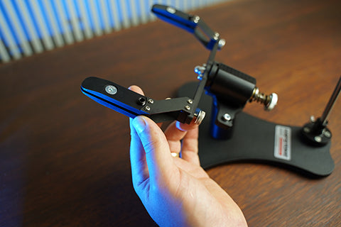 Hapstone Pro Knife Sharpener Unboxing R2 Clamps