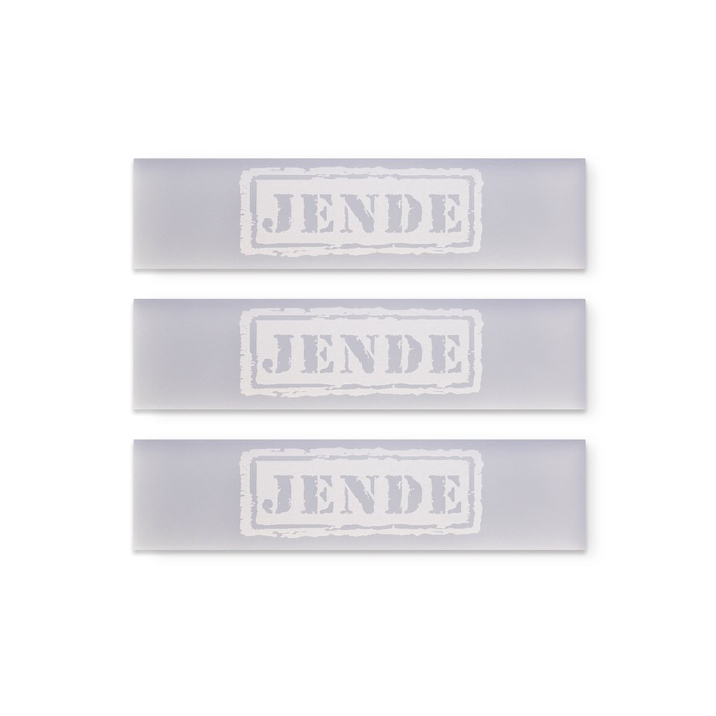 1x4 KME 1x4 Acrylic Lapping Film Blank 5mm (Set of 3)