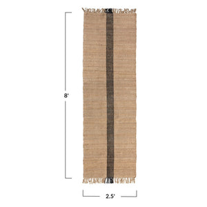 Jute & Cotton Floor Runner