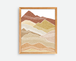 Moving Mountains Print