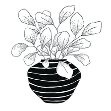 Load image into Gallery viewer, Striped Planter Print