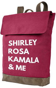 Shirley, Rosa, Kamala & Me Canvas Backpack