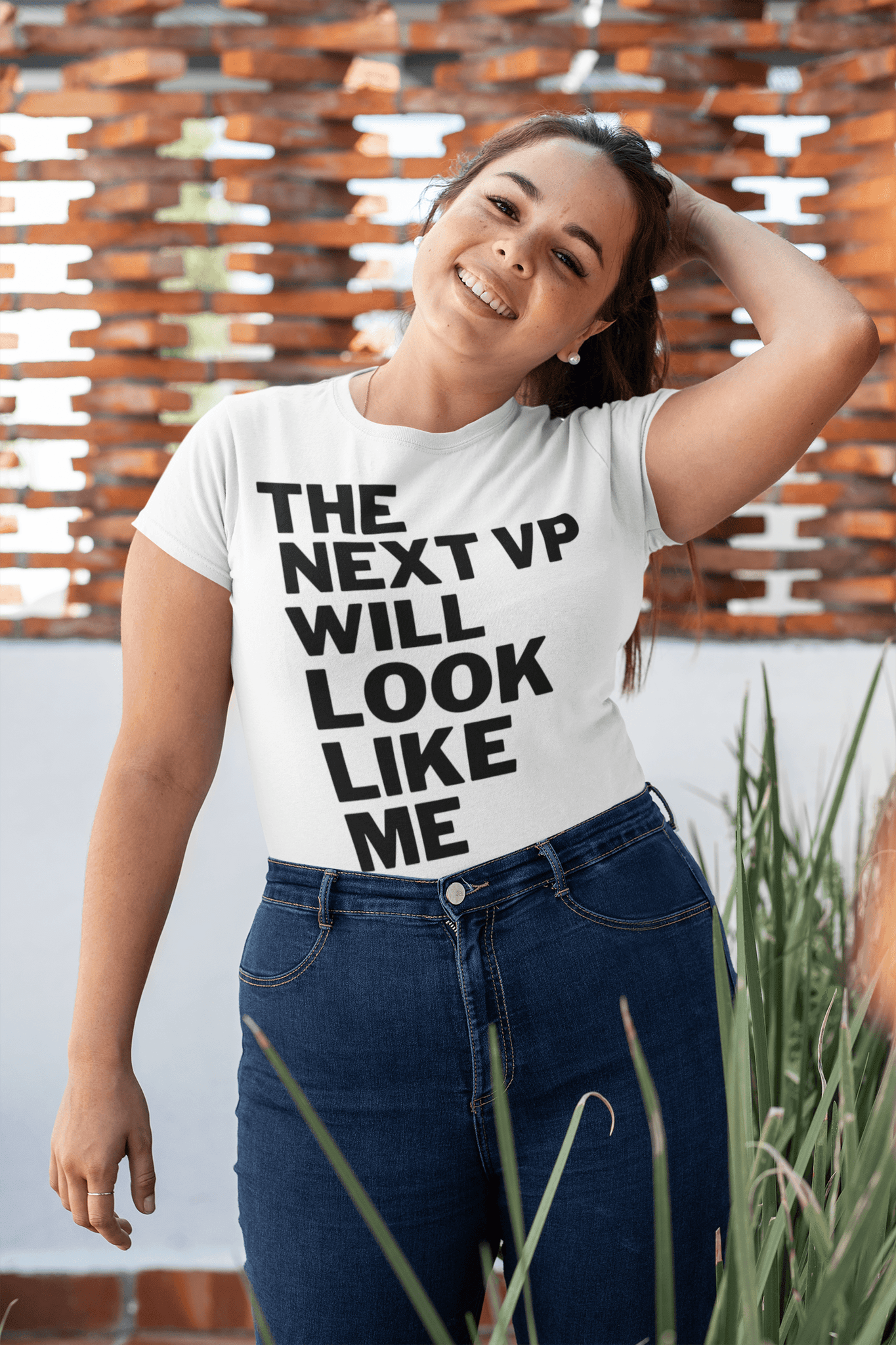 Biden, VP, 2020, 2021, Kamala Harris, Susan Rice, Elizabeth Warren, Karen Bass, Tammy Duckworth, Election, Campaign, Latina, Latino, Women, Woman, T-Shirt, Crewneck