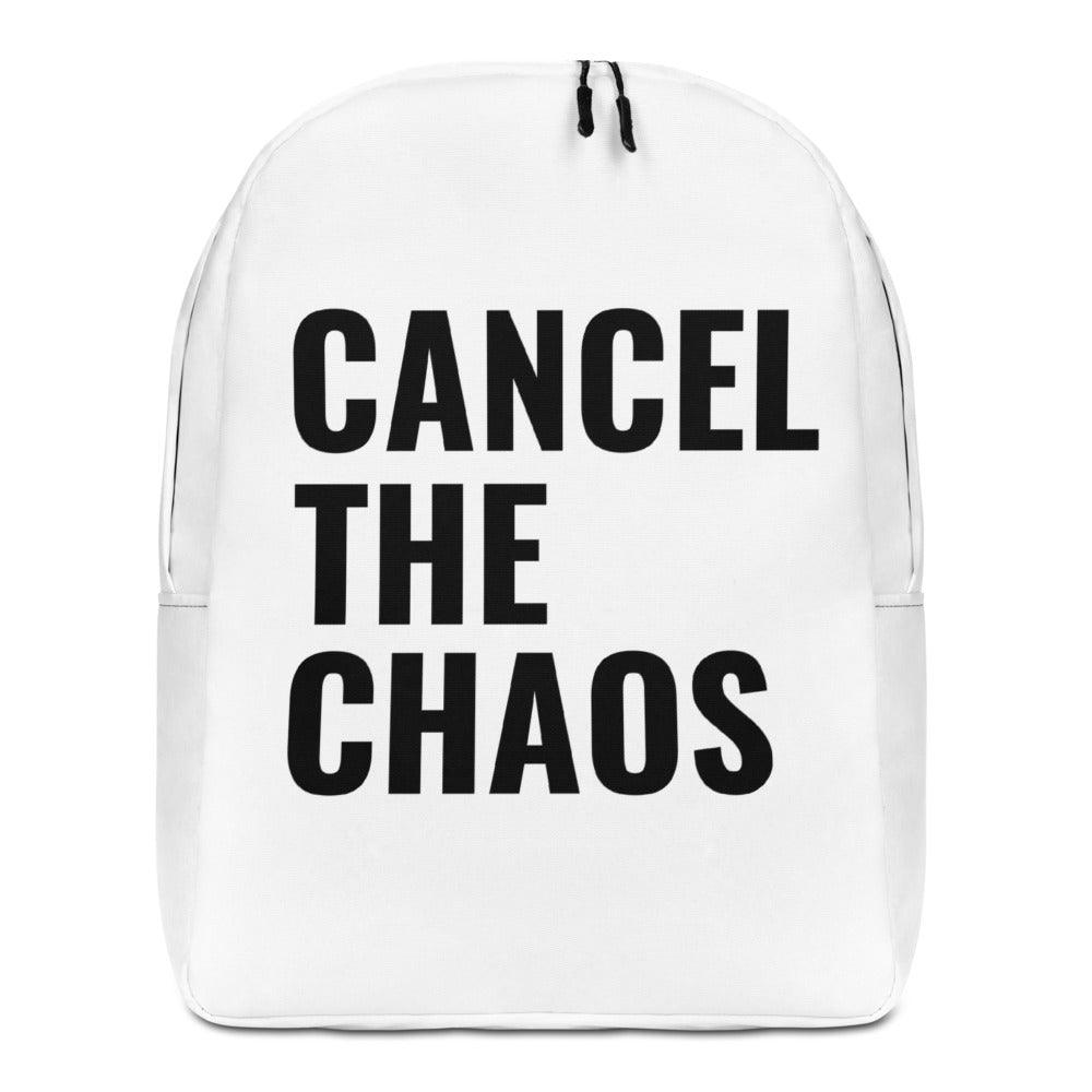 Cancel The Chaos Backpack