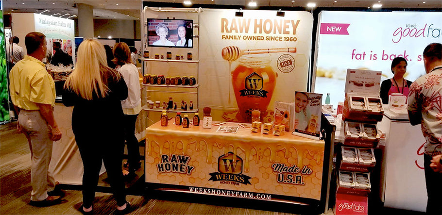 Weeks Honey Farm Attends New York City's Summer Fancy Food Show