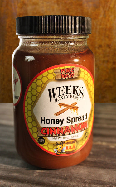 What Makes Weeks Honey Cinnamon Spread Special?