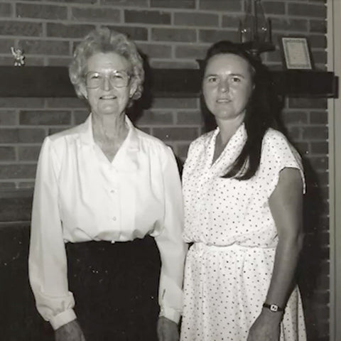 Margaret Weeks and Daughter Sharon Crosby