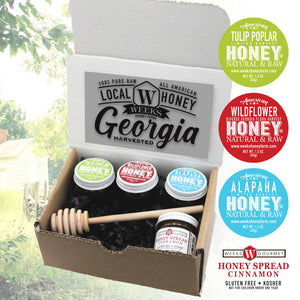 Local Georgia Sampler Box- Glass, 1.5 Ounce Collection