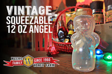 Load image into Gallery viewer, Weeks Honey Farm Vintage Squeezable 12 oz Angel - Weeks Honey Farm, Inc.