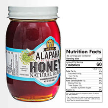 Load image into Gallery viewer, 2 Pack - Weeks Honey Farm; American Alapaha Honey - Glass Jar; 22 Ounce