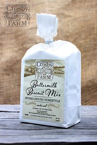 Stone-Ground Homestyle Biscuit Mix from Crosby Family Farm; 12 Ounce